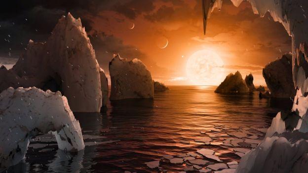 НАСА объявило об обнаружении семи похожих на Землю планет