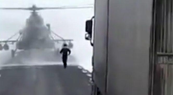 «А где Актюбинск?»: Военные посадили на трассу вертолет, чтобы узнать дорогу