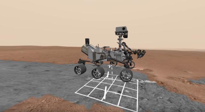 Google и NASA запустили виртуальный тур на Марс