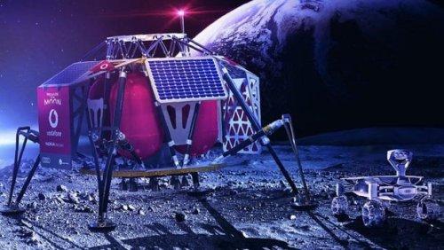 Компании Vodafone и Nokia планируют развернуть на Луне первую 4G-сеть