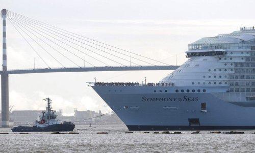 Машины-монстры: «Symphony of the Seas» — самый большой в мире круизный лайнер на сегодняшний день