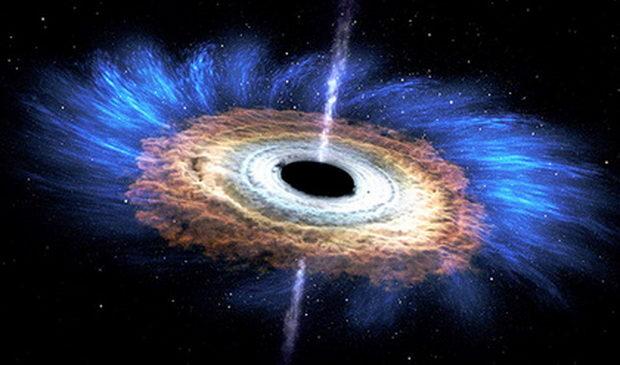 Доказано нарушение законов физики в черных дырах