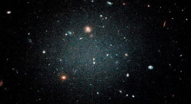 Обнаружена галактика без темной материи