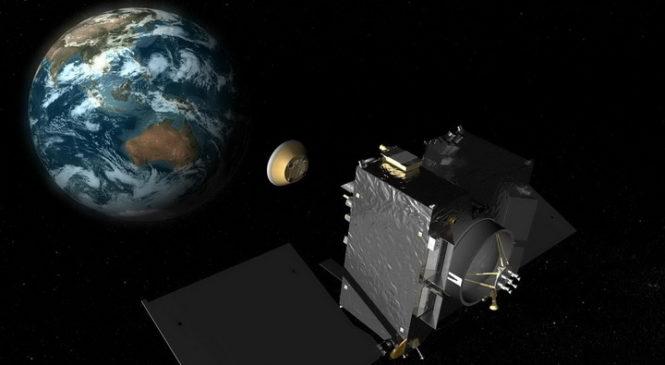 Космический зонд обнаружил жизнь на Земле