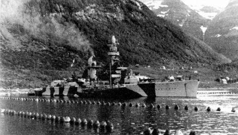 Маскировка крупнейшего нацистского боевого корабля «отравила» Норвегию