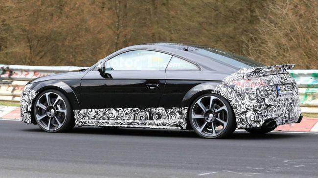 Audi готовит к премьере обновленный ТТ (Видео)