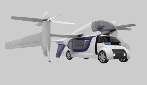 TF-2 — новая идея компании Terrafugia, которая позволит транспортировать людей по земле и по воздуху