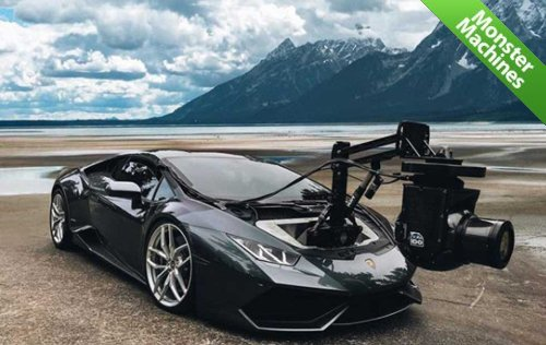 Машины-монстры: Lamborghini Huracam — самая быстрая в мире камера на колесах