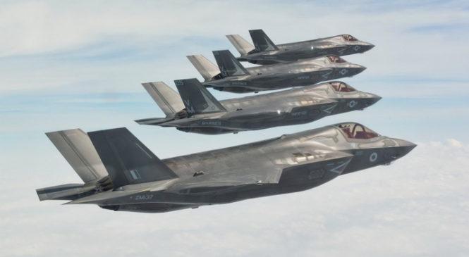 Появилась первая британская эскадрилья с истребителями пятого поколения