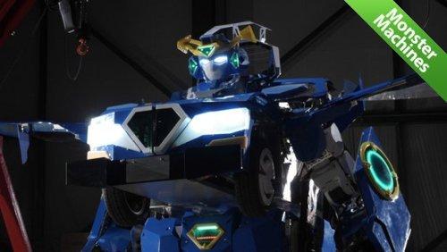 J-deite RIDE — реальный робот-трансформер, способный превращаться в автомобиль и обратно
