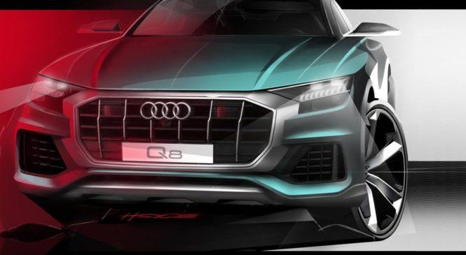 Audi показала новое изображение купеобразного Q8