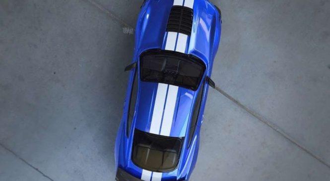 Самый мощный дорожный Mustang: первое изображение