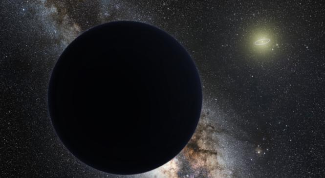 Далекая комета указала на девятую планету Солнечной системы