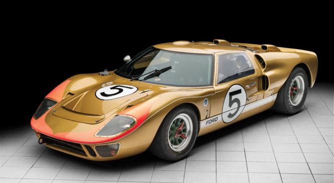 Полувековой Ford GT40 из Ле-Мана оценили в 12 миллионов долларов