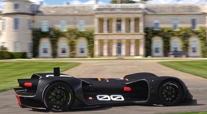 На старт первой гонки выйдет 500-сильная машина без водителя