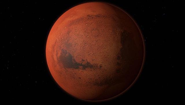 На Марсе нашли гигантское озеро жидкой воды