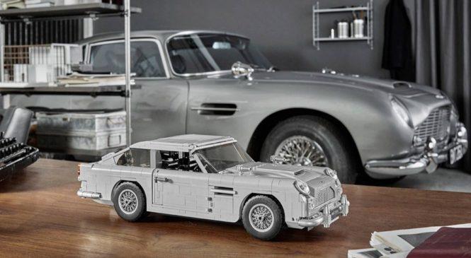 Aston Martin Джеймса Бонда превратили в конструктор Lego