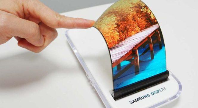 Samsung анонсировала небьющиеся OLED-дисплеи
