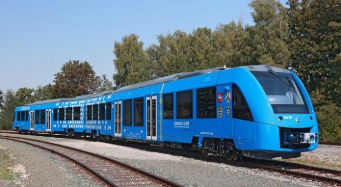 Германия запускает водородные поезда