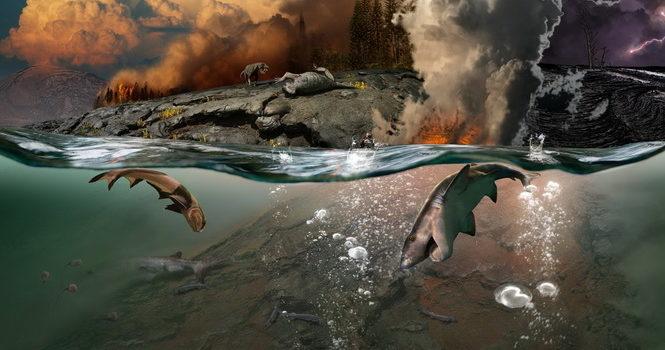 Величайшее вымирание в истории Земли связали с ядовитыми газами