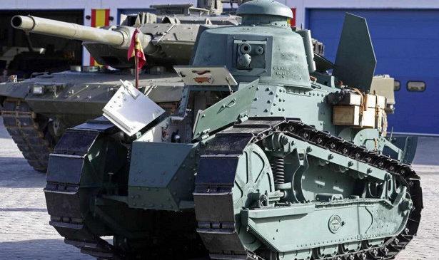 В Испании восстановили самый совершенный танк Первой мировой войны