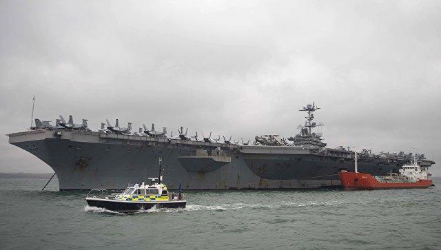 Авианосец ВМС США впервые с 1991 года вошел в Арктику
