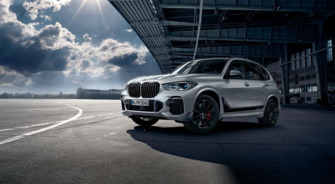 Новый BMW X5 получил набор аксессуаров M Performance