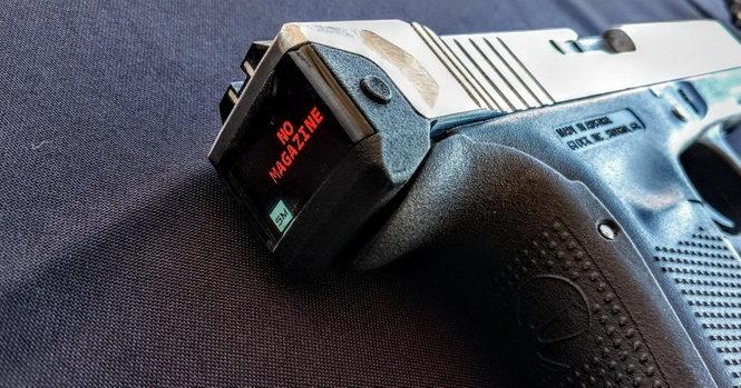 Дисплей и счетчик патронов: представлен «умный» пистолет