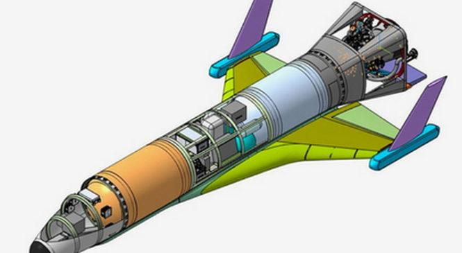 Представлено изображение первого российского гиперзвукового космического дрона