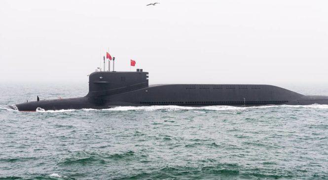 Китайские ВМС впервые продемонстрировали новую атомную подводную лодку