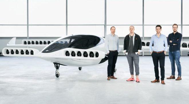 В Германии представили летающее такси без водителя