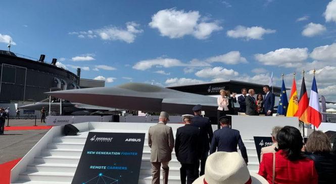 Европейцы показали макет истребителя нового поколения
