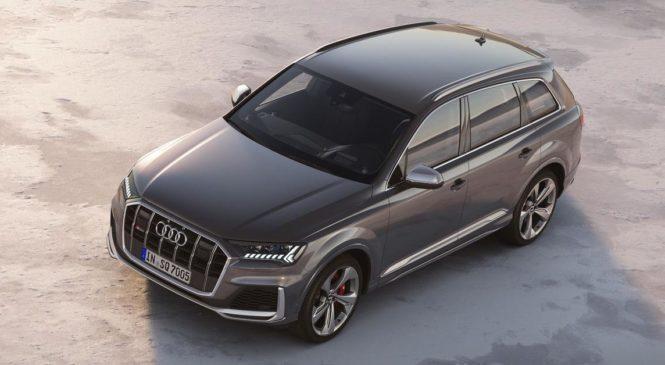 Audi обновила «заряженный» кроссовер SQ7