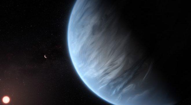 На потенциально обитаемой планете впервые обнаружена вода