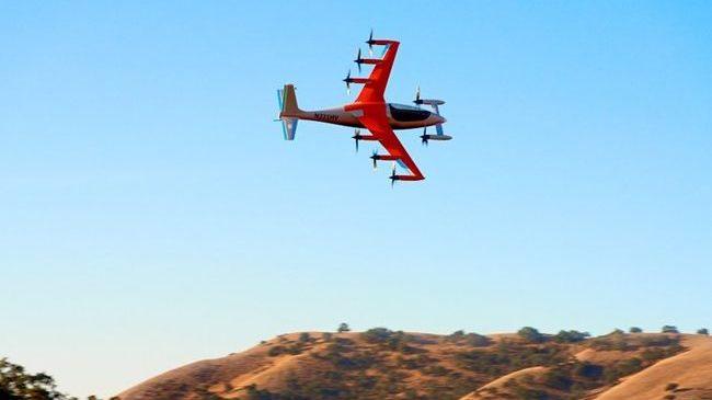 В США презентовали электрический вертикальный самолет