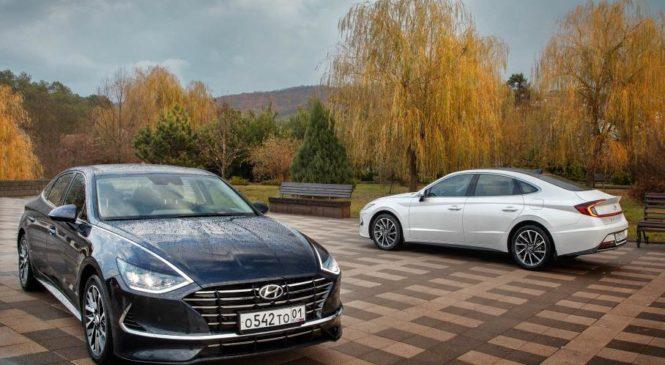 В России запустили полноценное производство Hyundai Sonata