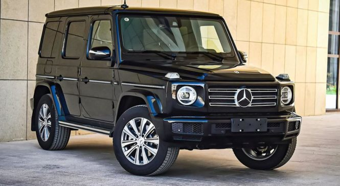 Mercedes-Benz создаст отдельный суббренд для G-Class
