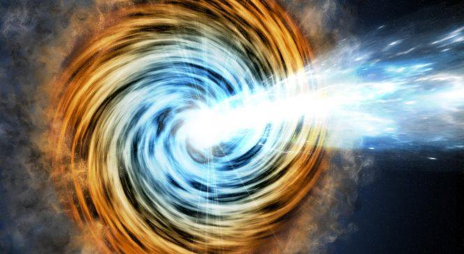 Астрономы нашли самую далекую черную дыру в галактике редкого типа