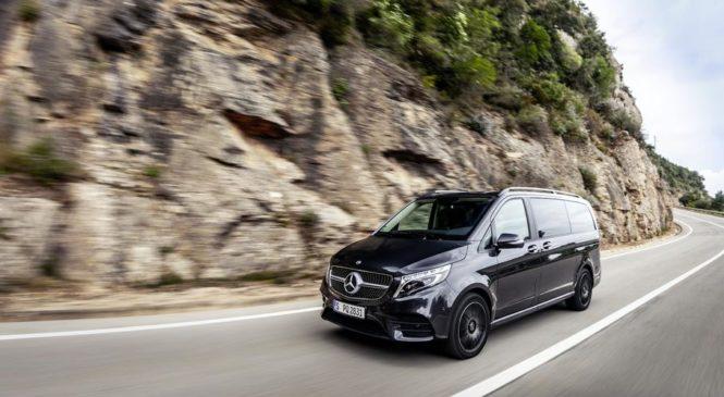 Mercedes-Benz V-Class получил пневматическую подвеску