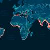 Экологи создали карту рек и регионов, которые больше всего загрязняют Мировой океан