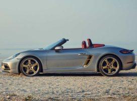 Porsche готовит к премьере электрическую версию Boxster
